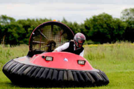 Hoverlimits - Five Lap Exhilarating Hovercraft Experience - Save 63%