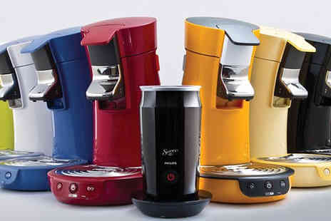 Trade Electricals Direct - Philips SENSEO Viva Cafe Coffee Pod Machine - Save 58%