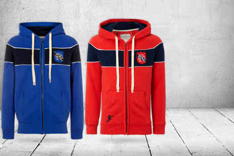Front Up Rugby - Yarde red or blue rugby hoodie - Save 51%