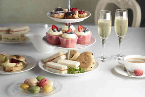 Tophams Hotel - Sparkling afternoon tea for 2 including sandwiches scones pastries - Save 63%