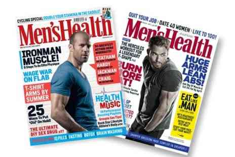 Hearst Magazines - 12 Month Subscription to Mens Health Magazine - Save 59%