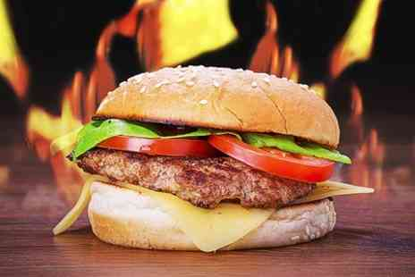 Lone Star Grill - Burger and Milkshake For One  - Save 44%