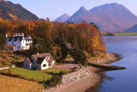 Loch Leven Hotel - One Nights For Two With Dinner and Cream Tea - Save 50%