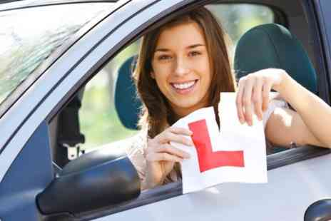 L drive the wright way - One Hour Driving Lessons - Save 86%