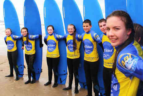 Long Line Surf School - Half Day Surfing Lesson with All Equipment Provided - Save 67%