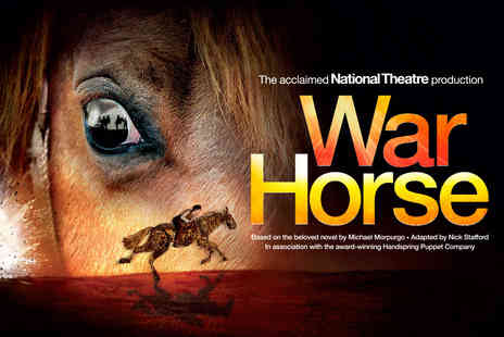 LOVEtheatre - War Horse and West End Dining Theatre Ticket  - Save 50%