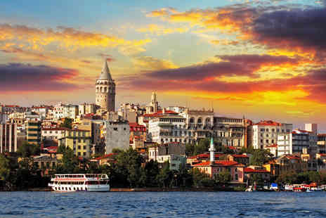 iFly Holidays - Two night 4 Istanbul break including return flights - Save 55%