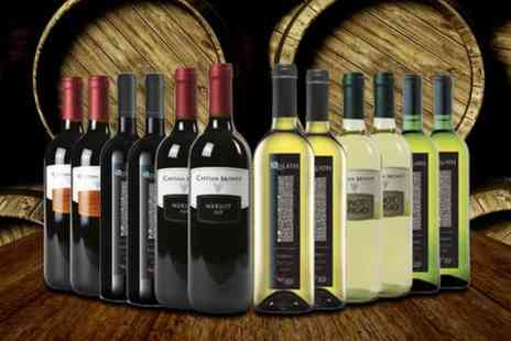 Oakbridge Wines - Mixed Italian Boutique Wine Six Bottles  - Save 48%
