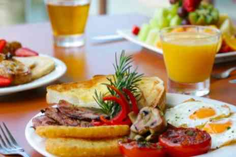 U F Coffee - Full English or Veggie Breakfast For Two - Save 51%