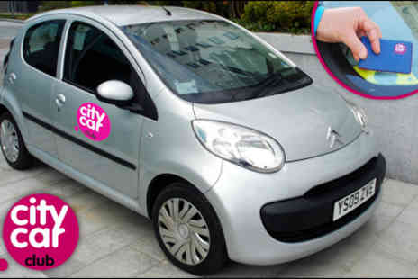 City Car Club - 12 months membership to City Car Club plus two hours of car rental - Save 69%