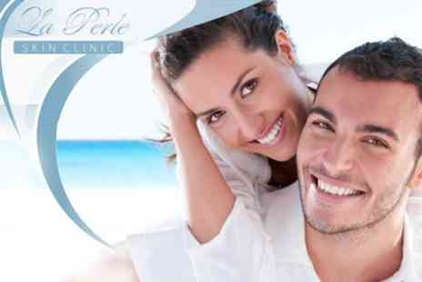 La Perle Clinic - Award-Winning Beyond Laser Teeth Whitening Treatment for £99 at La Perle, Value £350 - Save 72%