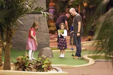 Paradise Island Adventure Golf - Adventure Golf Party For 12 Kids - Save 51%