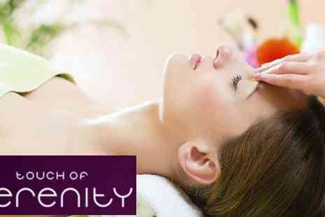 Touch of Serenity - Your choice of an hour aromatherapy Massage or Demologica Facial - Save 51%