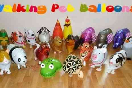 Walking Pet Balloons -  Walk, hop and skip with Walking Pet Balloons - Save 50%