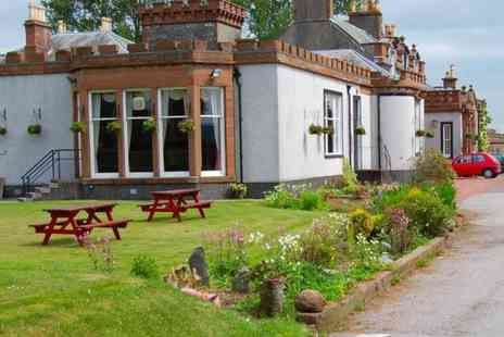 The Urr Valley Country House Hotel - Two night stay for 2 including breakfast and a bottle of wine - Save 51%