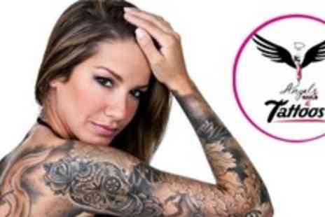 DAngels Nails and Tattoos - Tattoo With Minimum 45 Minute Ink Time - Save 60%