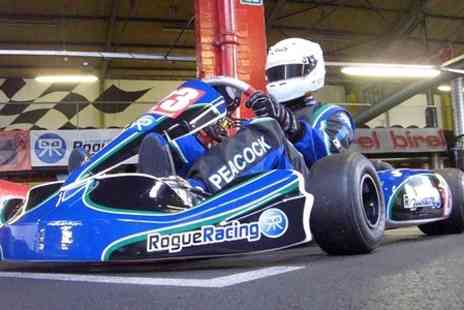 Rogue Racing - 50 Lap Indoor Karting Experience - Save 50%