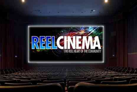 Reel Cinema - Cinema tickets for two people to see a new film release - Save 50%