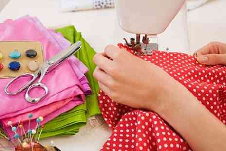 The Creative Sewing Studio - Three Hour Sewing Machine Workshop  - Save 62%
