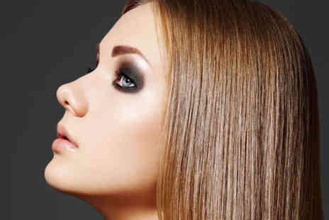 Anon Hair and Beauty - Haircut, Restyle, and Finish with Half-Head Highlights - Save 54%