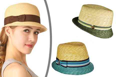 WooHooDeal - Womens Cloche Straw Hat  - Save 67%