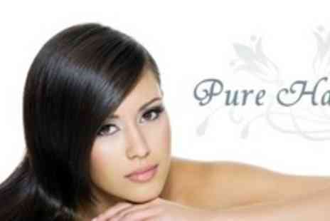 Pure Hair - LOreal X Tenso Semi Permanent Hair Straightening Treatment Plus Cut, Conditioning Treatment and Finish - Save 68%