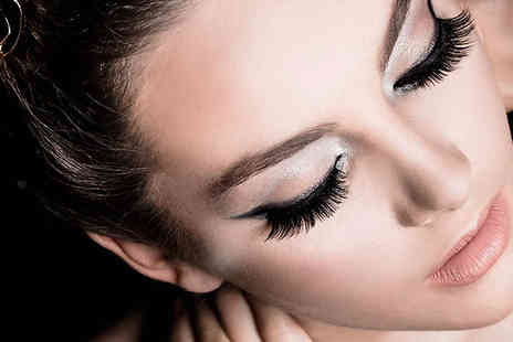 Stylish Lashes - One session of natural set of individual eye lash extensions  - Save 57%