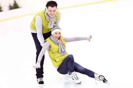 Ice Quest - Ice Skating Plus Skate Hire For Two - Save 50%