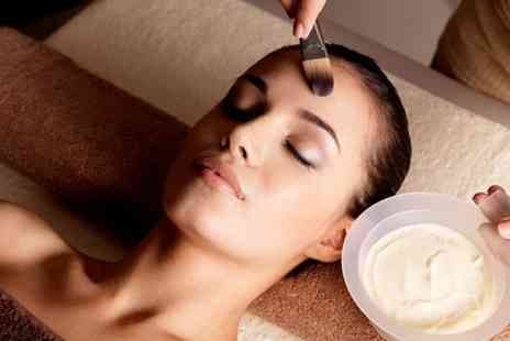 Dermatharepy Skin Clinic - Glycolic Facial Peel With Mask  - Save 51%