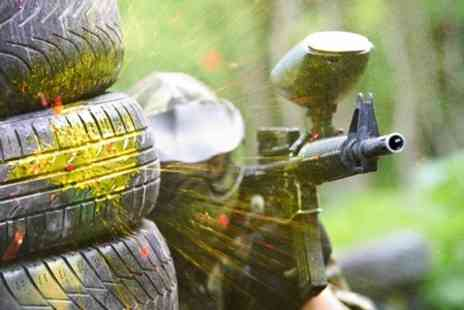 Unique Pursuits Paintball - Paintball Experience With Ammo and Lunch For Five - Save 80%