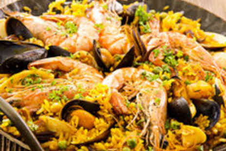 The Olive Grove - Delectable Dining for Two or Four with a Glass of Wine Each - Save 48%