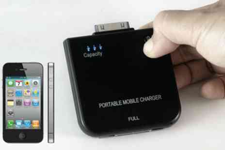 WooHooDeal - iPod and iPhone Battery Charger - Save 60%