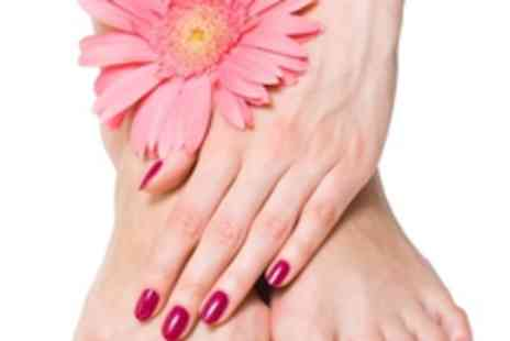 Leticia Haute Coiffure - Manicure & Pedicure, including a Colour Varnish of your choice - Save 65%