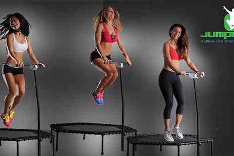 Jumping Fitness -  5 jumping fitness classes  - Save 60%