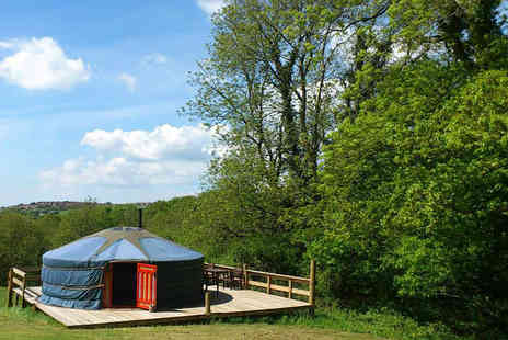 Cwm Tawel Yurts - Four night midweek yurt stay for up to 5 - Save 58%