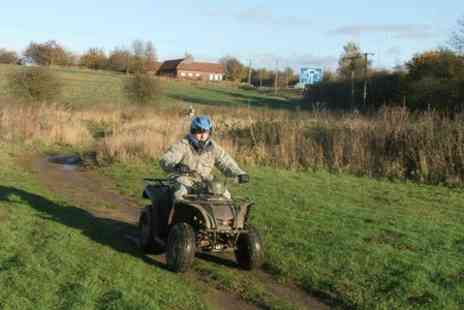 Elsham Activity Centre - Quad Bike Trek For One - Save 62%