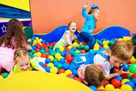 Kidz World Soft Play - Kidz World Party For Ten With Food and Soft Play - Save 53%