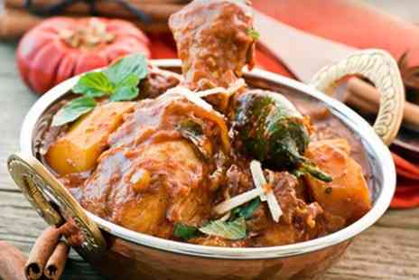 Chillis Restaurant - Indian Meal With Rice and Naan For Two  - Save 57%