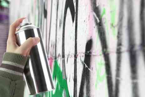 Zap Grafitti Arts - Graffiti Art Class with Take Home Print For One - Save 50%