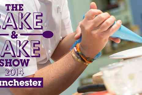 Cake & Bake Show - A Sweet Treat for Two Tickets to the Cake and Bake Show 2014 at Manchester Central - Save 50%