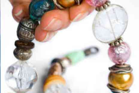 Bead & Button Bazaar - Two Hour Beginners Jewellery Making Class - Save 55%