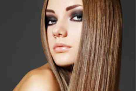 The Hair Salon - Haircut, Brazilian Blow Dry, and Keratin Treatment - Save 64%