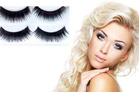 Flutterby Glam - Get Ten Pairs of Glam False Eyelashes - Save 43%