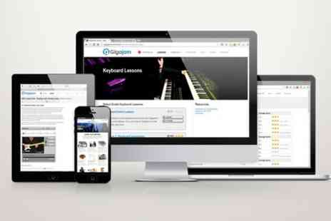Gigajam Music School - Unlimited and Lifetime Access to Interactive Music Lessons - Save 70%