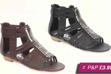 Mrs Marcos - Choice from a selection of womens summer footwear - Save 60%