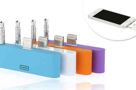 Snippick -  8 Pin to 30 Pin Adapter for the iPhone 5, iPad mini and iPod touch - Save 92%