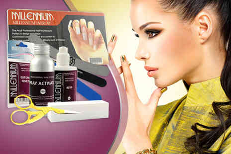 Millennium Nails - Fiberglass nail kit - Save 50%