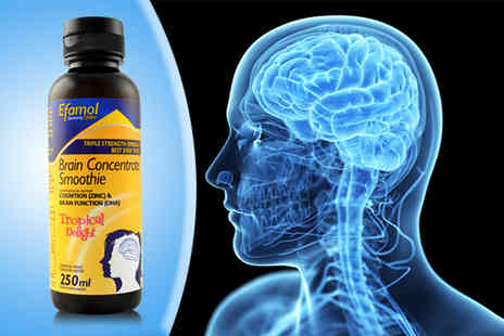 Efamol - One month supply of Efamol brain concentrate smoothie - Save 50%