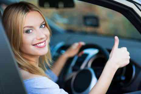 1st Pass School Of Motoring - One hour driving lessons - Save 85%