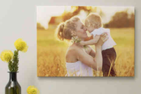 Albelli - Voucher for a Personalised Photo Canvas Including Delivery - Save 59%